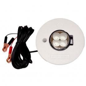Hydro Glow FFL12 Floating Fish Light w-20 Cord - LED - 12W - 12V - White