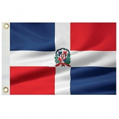 Taylor Made Dominican Republic Flag 12- x 18- Nylon