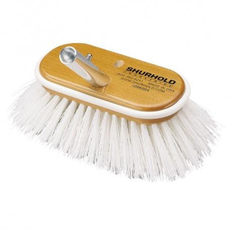Shurhold 6- Polypropylene Stiff Bristle Deck Brush