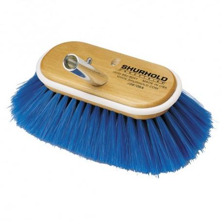 Shurhold 6- Nylon Extra Soft Bristles Deck Brush