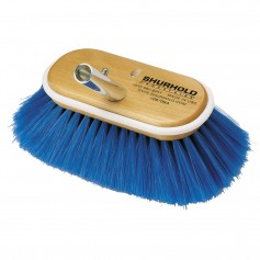 Shurhold 6- Nylon Extra Soft Bristles Deck Brush