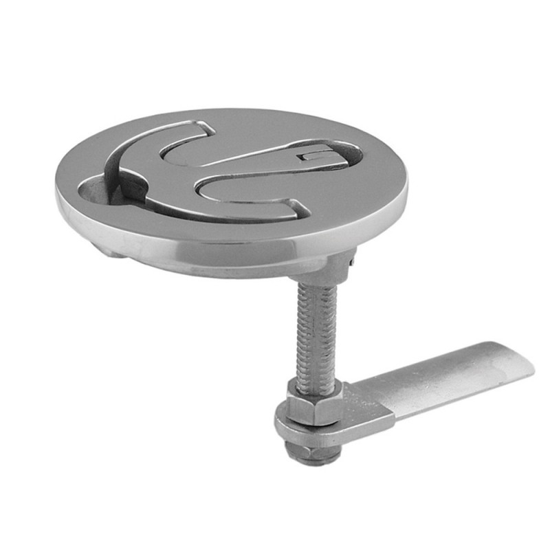 TACO Latch-tite Lifting Handle - 2-5- Round - Stainless Steel