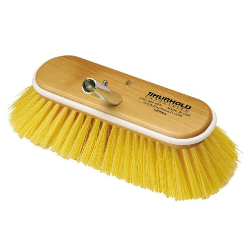 Shurhold 10- Polystyrene Medium Bristle Deck Brush