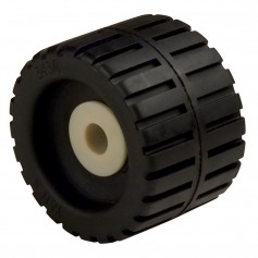 C-E- Smith Ribbed Wobble Roller 4-3-8- - 5-8-ID w-Black Bushing
