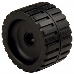 C-E- Smith Ribbed Wobble Roller 5-7-8-ID w-Bushing Black