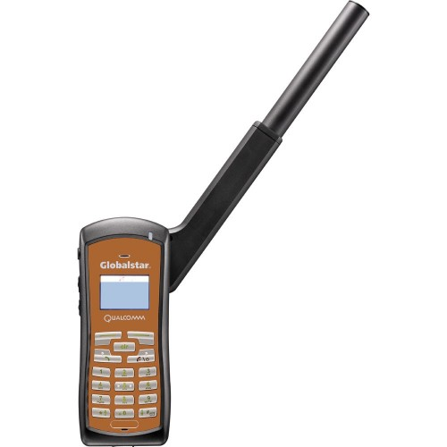 Globalstar GSP-1700 Pre-Owned Satellite Phone Bundle Includes Phone Battery- Wall Charger- Car Charger Case