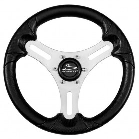 Schmitt Ongaro 13- Torcello Lite - Polyurethane Wheel - 3-4- Tapered Hub - Silver-Black