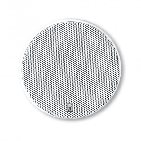 Poly-Planar 5-25- Platinum Round Marine Speaker - -Pair- White