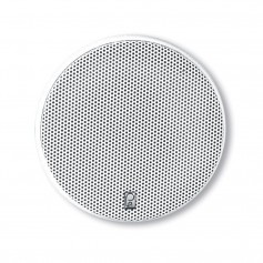 Poly-Planar 5-25- Platinum Round Marine Speaker - -Pair- White