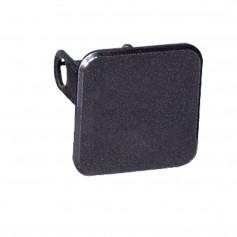Draw-Tite Receiver Tube Cover 2- Square - Black Plastic
