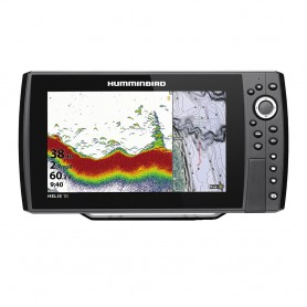 Humminbird HELIX 10 CHIRP Fishfinder-GPS Combo G3N w-Transom Mount Transducer