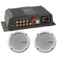 Lowrance Sonichub Marine Audio Server w-6-5- Speakers