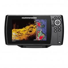 Humminbird HELIX 7 CHIRP MEGA DI Fishfinder-GPS Combo G3 w-Navionics- Transom Mount Transducer