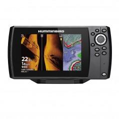 Humminbird HELIX 7 CHIRP MEGA SI Fishfinder-GPS Combo G3 w-Navionics- Transom Mount Transducer