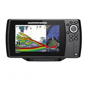 Humminbird HELIX 7 CHIRP Fishfinder-GPS Combo G3N w-Transom Mount Transducer