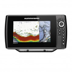 Humminbird HELIX 8 CHIRP Fishfinder-GPS Combo G3N w-Transom Mount Transducer