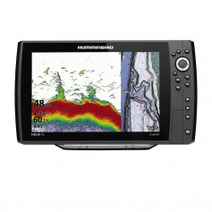 Humminbird HELIX 12 CHIRP Fishfinder-GPS Combo G3N w-Transom Mount Transducer