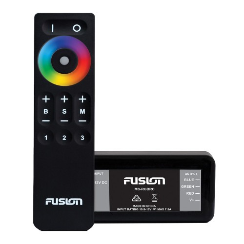 FUSION MS-RGBRC RGB Lighting Control Module w-Wireless Remote Control