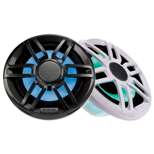 FUSION XS-FL77SPGW XS Series 7-7- 240 Watt Sports Marine Speakers - Grey White Grill Options