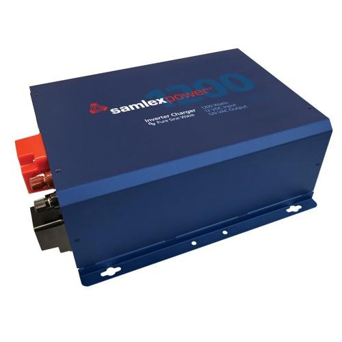 Samlex Evolution F Series 1200W- 120V Pure Sine Inverter-Charger w-12V Input 60 Amp Charger w-Hard Wiring