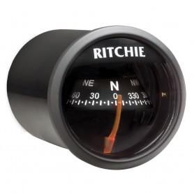 Ritchie X-21BB RitchieSport Compass - Dash Mount - Black-Black
