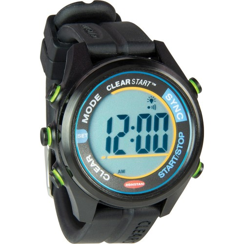 Ronstan ClearStart 40mm Sailing Watch- Black
