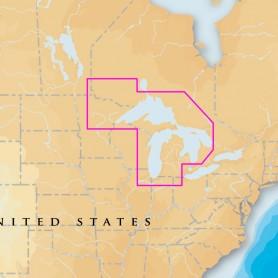Navionics Platinum- - West Great Lakes - microSD-SD