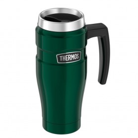 Thermos Stainless King Vacuum Insulated Stainless Steel Travel Mug - 16oz - Pine Green