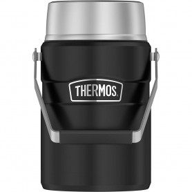 Thermos Food Jar - 47oz - Stainless Steel-Matte Black
