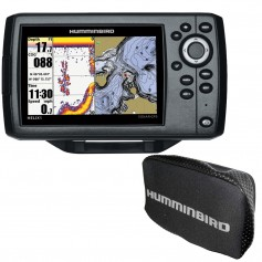 Humminbird HELIX 5 CHIRP DI GPS G2 Combo w-Nav- and Cover