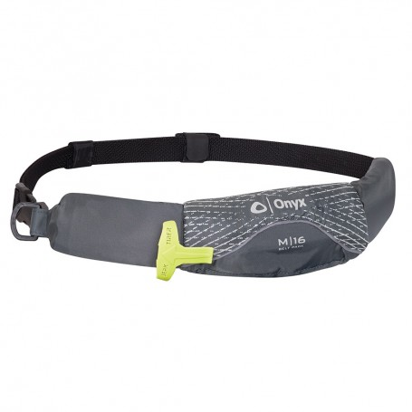 Onyx M-16 Manual Inflatable Belt Pack -PFD- - Grey