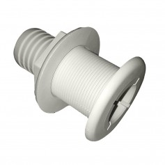 Johnson Pump Thru-Hull - 1-1-2- - White