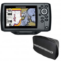 Humminbird HELIX 5 Chirp GPS G2 Combo w-Free Cover