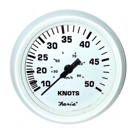 Farai 4- Speedometer 50 Knot Dress White
