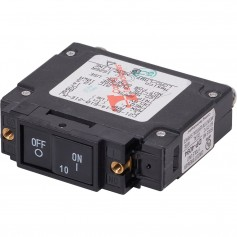 Blue Sea 7441 UL-489 Circuit Breaker - 10A Flat Rocker