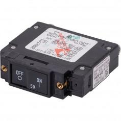 Blue Sea 7445 UL-489 Circuit Breaker - 50A Flat Rocker