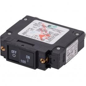 Blue Sea 7446 UL-489 Circuit Breaker - 100A Flat Rocker