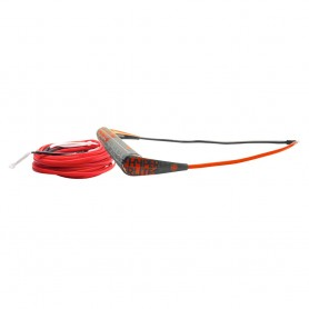 Hyperlite Team Handle w-75 Silicone X-Line Combo - Red