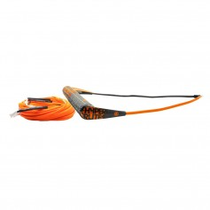 Hyperlite Team Handle w-75 Silicone X-Line Combo - Orange