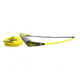 Hyperlite Team Handle w-75 Silicone X-Line Combo - Yellow