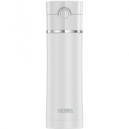 Thermos Sipp Stainless Steel Drink Bottle - 16 oz- - Matte White