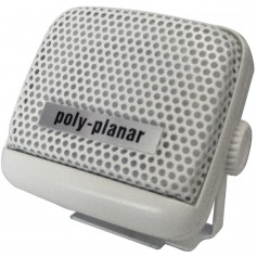 Poly-Planar VHF Extension Speaker - 8W Surface Mount - -Single- White