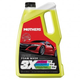 Mothers Triple Action Foam Wash - 100oz-