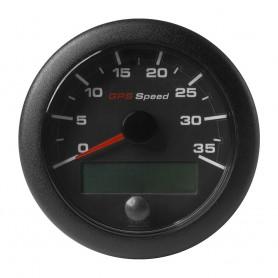 VDO Marine 3-3-8- -85mm- OceanLink GPS Speedometer - Black Dial Bezel -0-35 K-MPH-KMH-