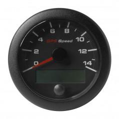 VDO Marine 3-3-8- -85mm- OceanLink GPS Speedometer - Black Dial Bezel -0-14 K-MPH-KMH-