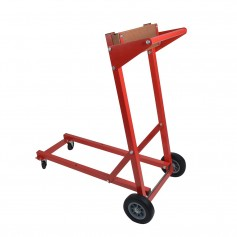 C-E- Smith Outboard Motor Dolly - 250lb- - Red