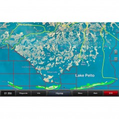 Garmin Standard Mapping - Louisiana Central Premium microSD-SD Card