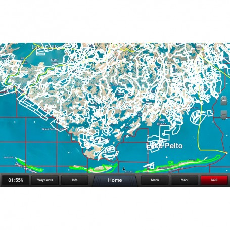 Garmin Standard Mapping - Louisiana Central Professional microSD-SD Card