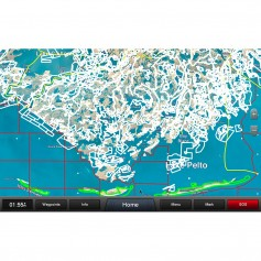 Garmin Standard Mapping - Louisiana Central Professional microSD-SD Card