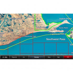 Garmin Standard Mapping - Louisiana West Premium microSD-SD Card